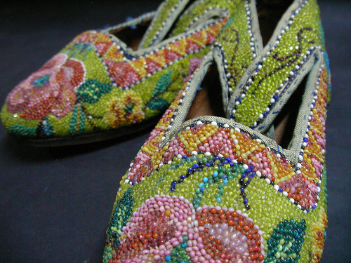 Kasot Manek (Beaded Shoes)